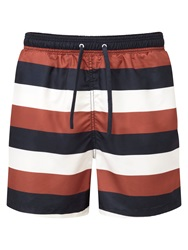 Tog 24 Bali Stripe Drawstring Swimshorts Blue