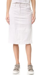 Dkny Pure Pencil Skirt Gesso