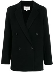 Vince Double Breasted Jacket Black