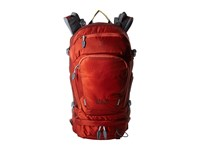 Jack Wolfskin Satellite 22 Pack Mexican Pepper Backpack Bags Red