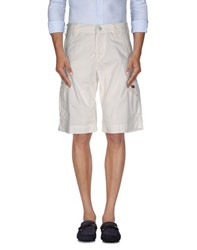 Napapijri Trousers Bermuda Shorts Men White