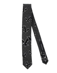 Kris Van Assche Krisvanassche Accessories Ties Men Black