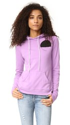 Freecity Life Nature Love Pullover Hoodie Pink