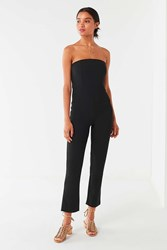 Urban Outfitters Uo Sena Strapless Jumpsuit Black