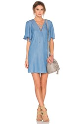 Lovers Friends Washed Ashore Dress Blue