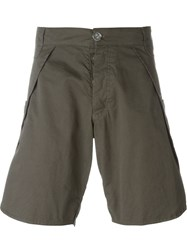 Telfar Patch Pocket Shorts Grey