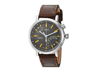 Timex Metropolitan Dark Brown Silver Tone Black Watches