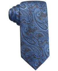 Countess Mara Melange Paisley Tie Blue
