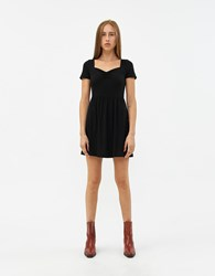Which We Want Mimi Sweetheart Dress Black