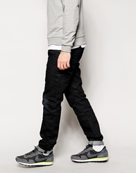 Jack And Jones Jack And Jones Jeans With Front Pocket In Tapered Fit Darknavy