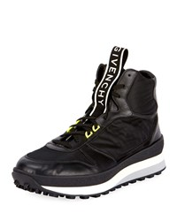 Givenchy Tr3 Mid Top Runner Sneakers Black