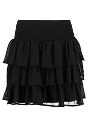 Vero Moda Tall Vmnoora Mini Skirt Black