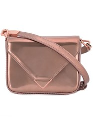 Alexander Wang Mini 'Prisma' Crossbody Bag Metallic