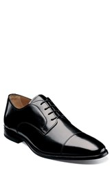 Florsheim Men's 'Sabato' Cap Toe Derby Black