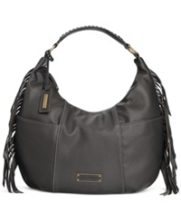 Tignanello Tribeca Leather Hobo Black