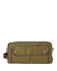 Polo Ralph Lauren Military Nylon Shave Kit Olive
