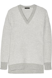 Belstaff Canwick Wool And Cashmere Blend Sweater Gray