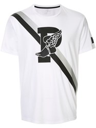 Ralph Lauren P Wing Graphic Print T Shirt White