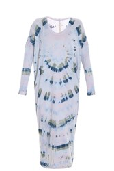 Raquel Allegra Raglan Tie Dye Dress Multi
