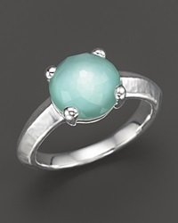 Ippolita Rock Candy Single Stone Ring In Aqua Blue