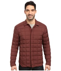 Arc'teryx Rico Shacket Redwood Men's Clothing Mahogany