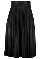 Only Onlpu Pleated Skirt Black
