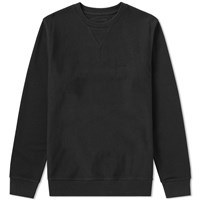 Stussy Stock Terry Crew Sweat Black