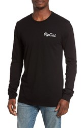 Rip Curl Men's Quantum Graphic T Shirt Black