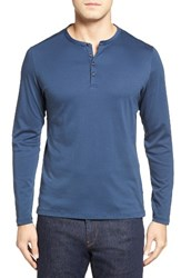 Robert Barakett Men's Cambridge Cotton Henley