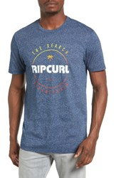 Rip Curl Men's Smasher Graphic T Shirt Navy