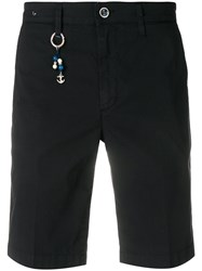 Re Hash Key Ring Bermuda Shorts Blue