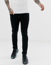 G Star Revend Skinny Fit Jeans In Black