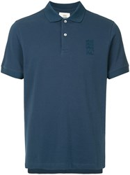 Kent And Curwen Classic Polo Shirt Blue