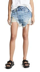 R 13 R13 Crossover Shorts Emory With Rips