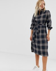 Minimum Moves By Check Shirt Dress Multi