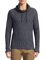 Madison Supply Cowlneck Sweater Peacoat