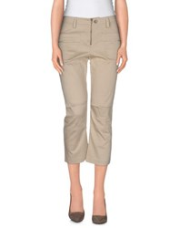 Le Fate Trousers 3 4 Length Trousers Women Beige
