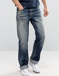 Edwin Ed 39 Red Listed Selvedge Loose Fit Jeans Blue