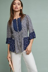 Maeve Hiver Blouse Navy
