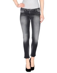 Nolita Denim Pants Black