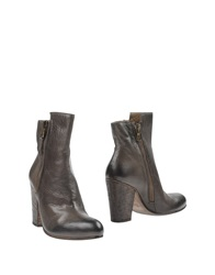 Jfk Ankle Boots Dark Brown