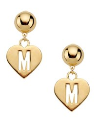 Moschino Couture Jewellery Earrings Women Gold