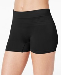 Warner's No Pinching Seamless Boyshort Rw9511p Black