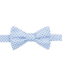 Ryan Seacrest Distinction Men's Irvine Neat Pre Tied Bow Tie Only At Macy's Light Blue
