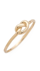 Ariel Gordon Jewelry Love Knot Ring Gold