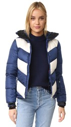 Perfect Moment Super Day Jacket Blue White