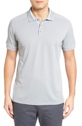 Bobby Jones Men's Tech Pique Golf Polo Graphite