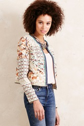 Blank Patchwork Jacket Grey Motif