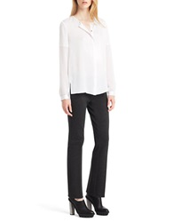Kenneth Cole Tobin Blouse White