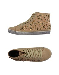 Colors Of California Footwear High Tops And Trainers Women Sand